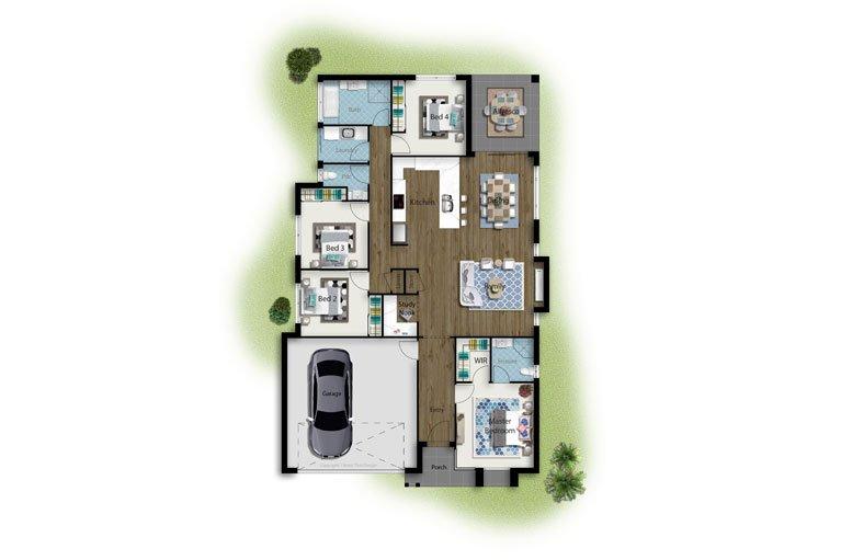 Resi Homes – Wattle Floorplan